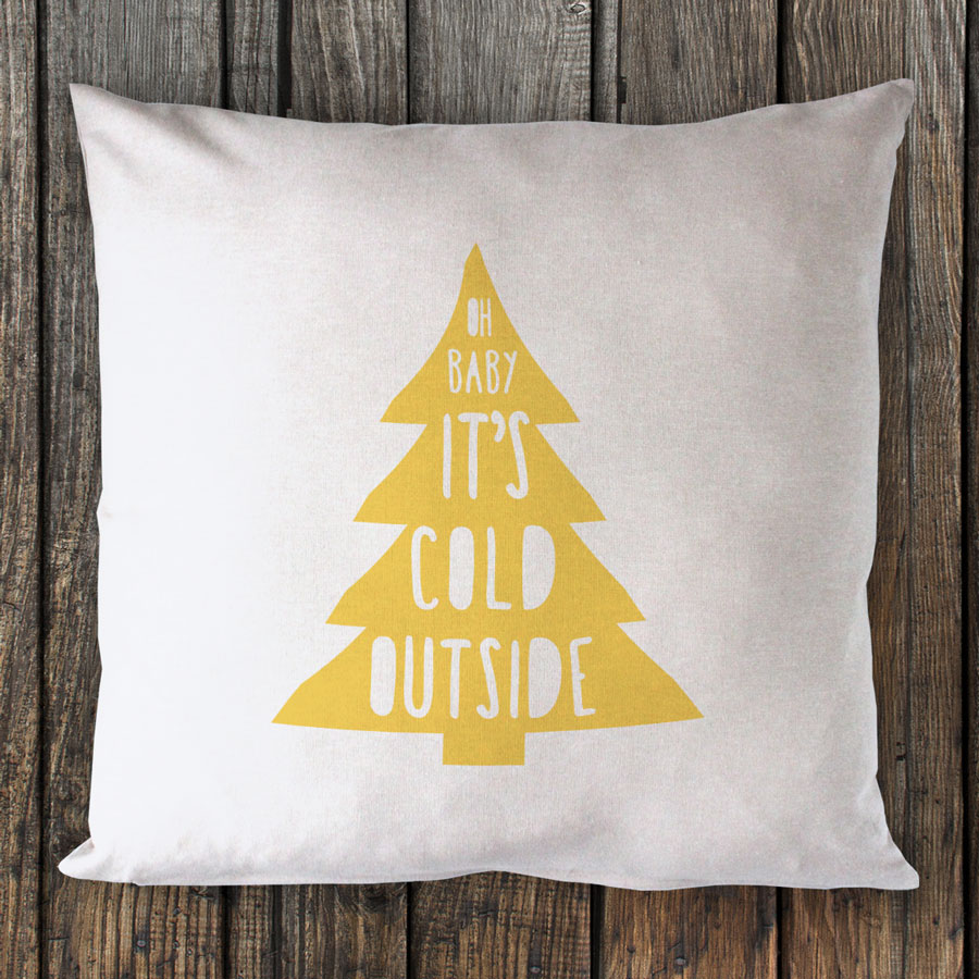 Oh Baby It's Cold Outside – Metallic Gold