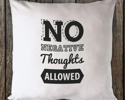 No Negative Thoughts Allowed – Black